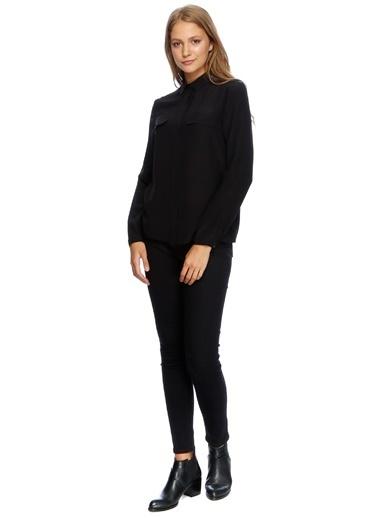 Uzun Kollu Slim Fit Gömlek-Fabrika